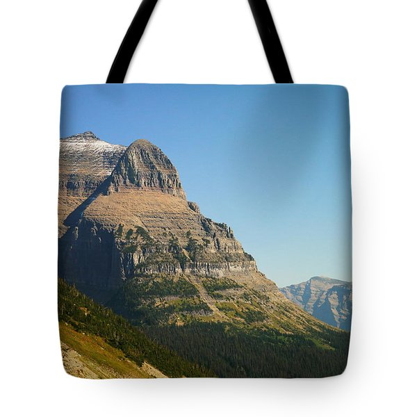 The Very First Snow In Montana In September Tote Bag by Jeff Swan