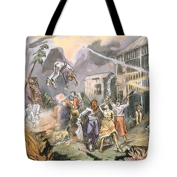 The Very Same Night The Whole Place Tote Bag by English School
