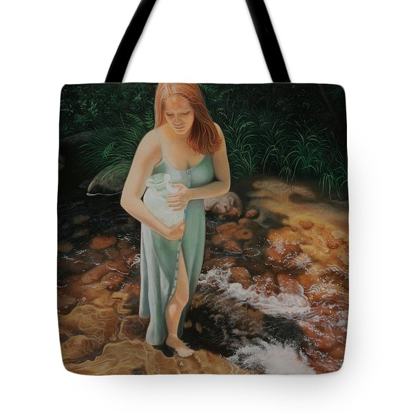 The Vessel Tote Bag by Holly Kallie