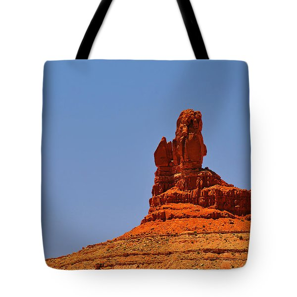 The Vibe Of Valley Of The Gods Utah Tote Bag by Christine Till