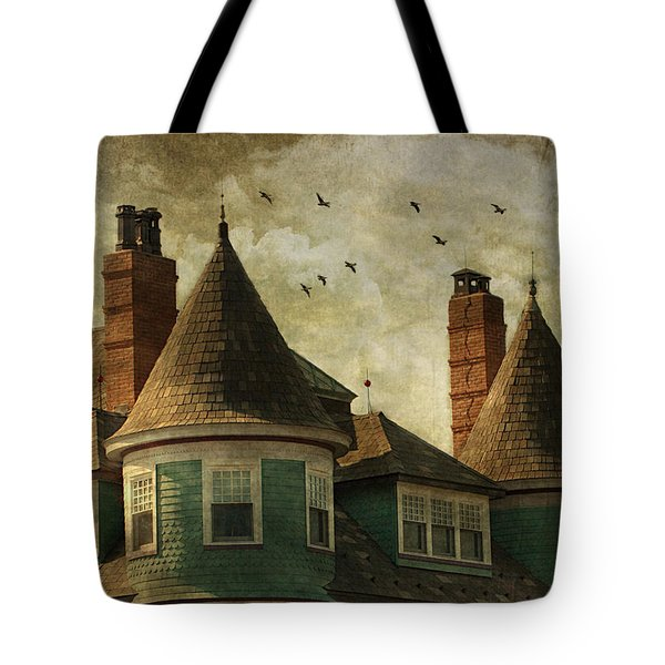 The Victorian Tote Bag by Fran J Scott