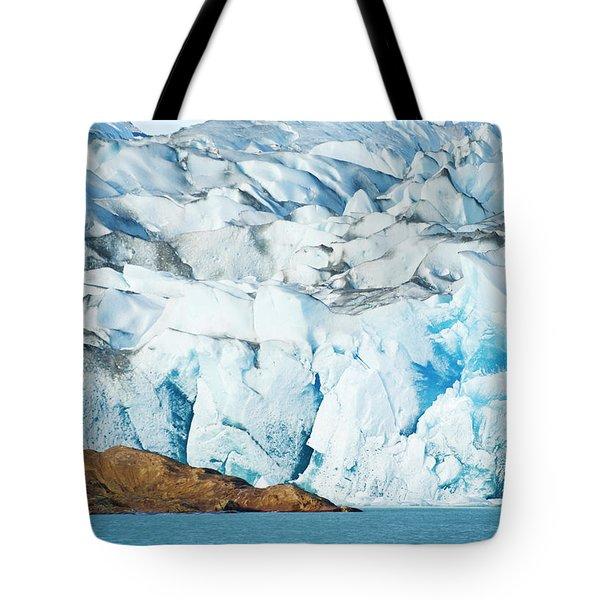 The Viedma Glacier Terminating Tote Bag