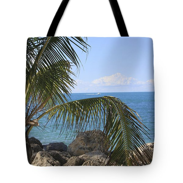 Key West Ocean View Tote Bag