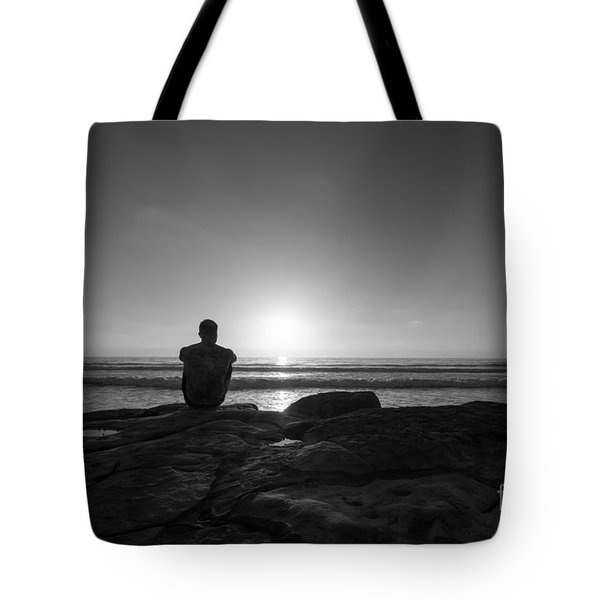 The View Bw Tote Bag