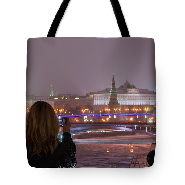 The View - Featured 3 Tote Bag by Alexander Senin