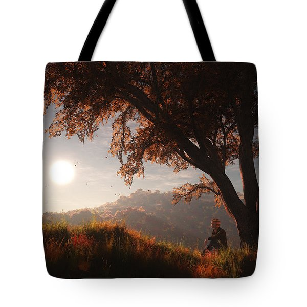 The View From Here Tote Bag by Melissa Krauss