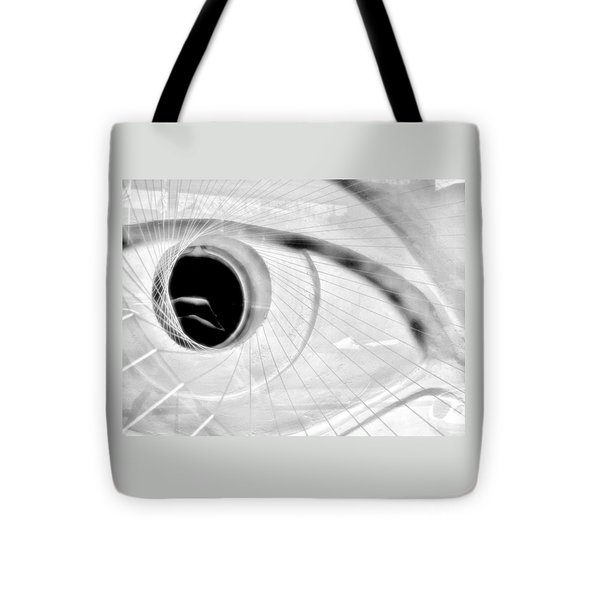 The View In The Eye Tote Bag by Marcia L Jones