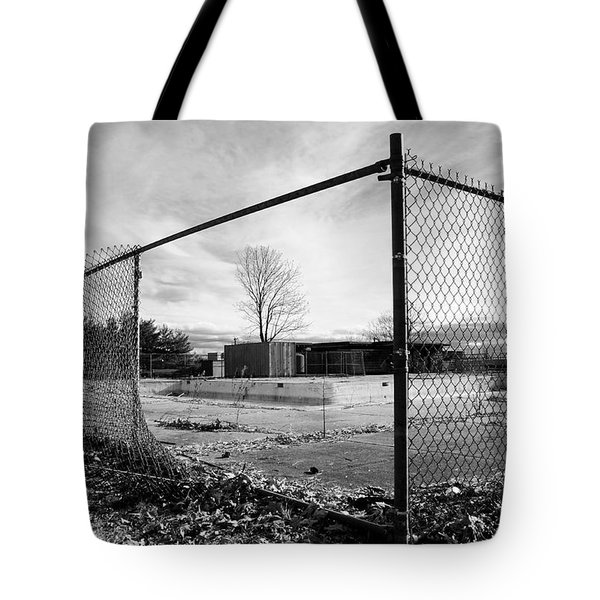 The View Tote Bag by Luke Moore