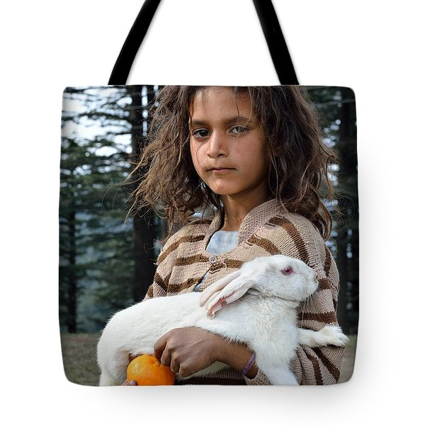 The Village Girl Tote Bag