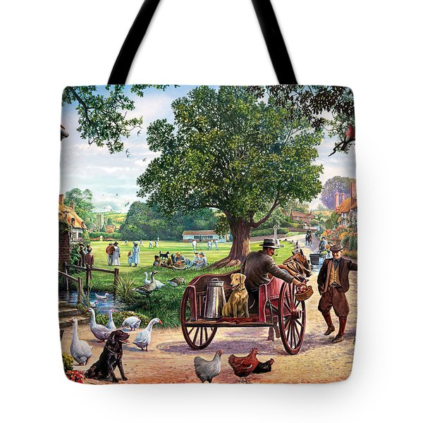 The Village Green Tote Bag