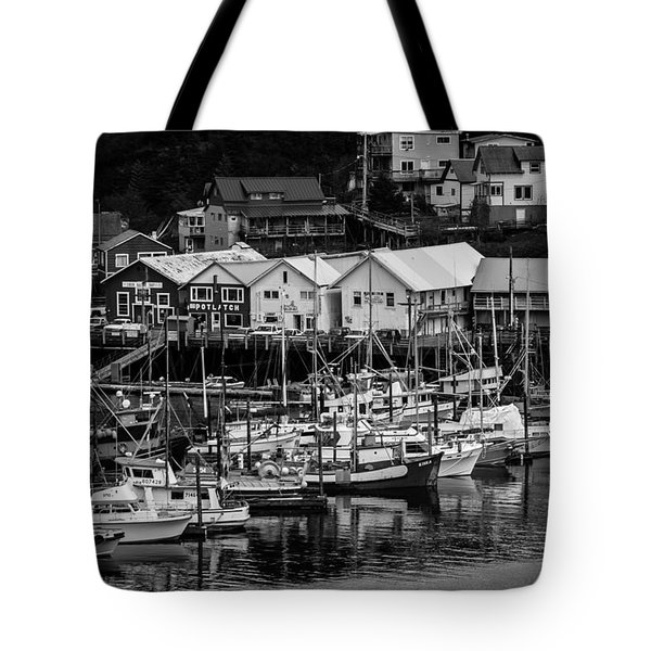 The Village Pier Tote Bag