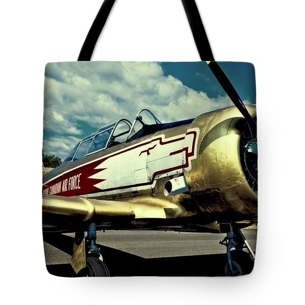 The Vintage North American T-6 Texan Tote Bag by David Patterson