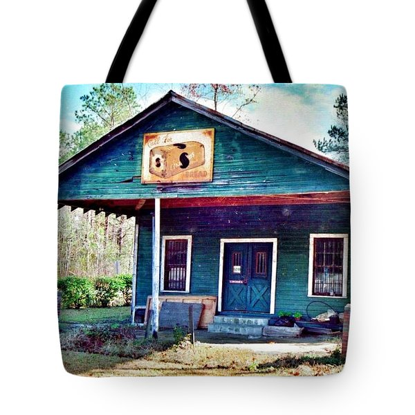 The Vintage Shop In Green Pond Tote Bag