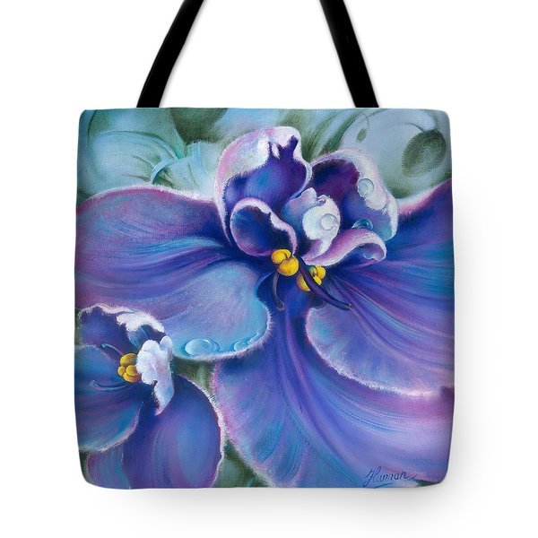 The Violet Tote Bag