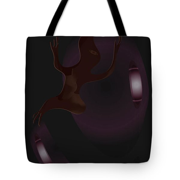 The Violet Void Tote Bag