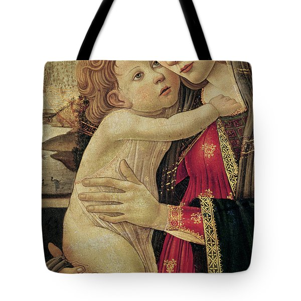 The Virgin And Child Tote Bag