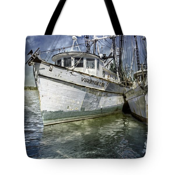 The Virginia Lee And The Miss Harley Tote Bag by Debra and Dave Vanderlaan