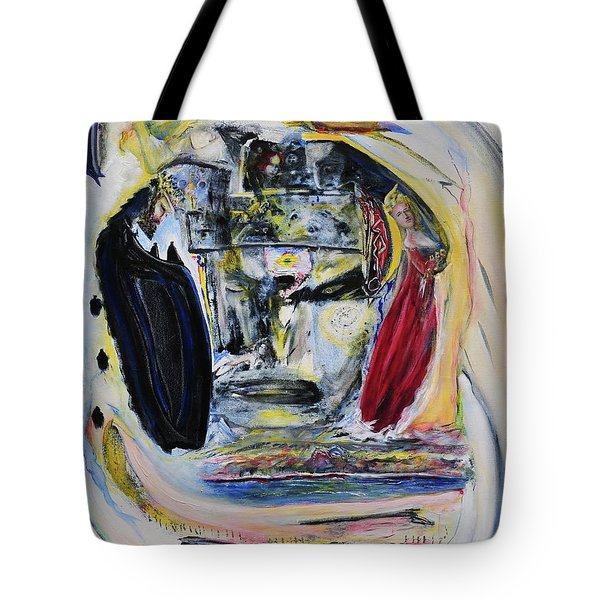 The Vision Of Ironstar Tote Bag