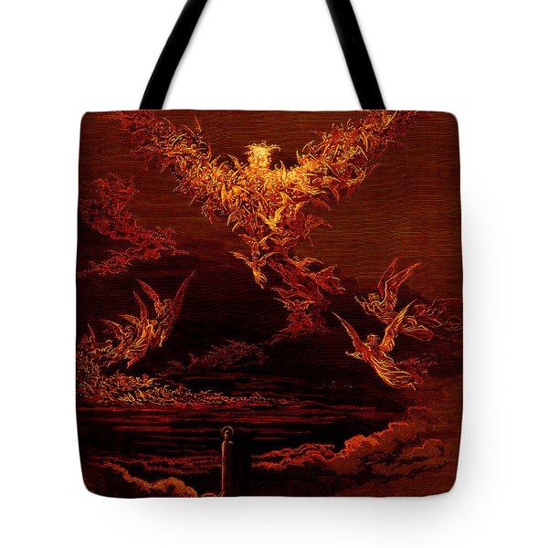 The Vision Of The Sixth Heaven Tote Bag