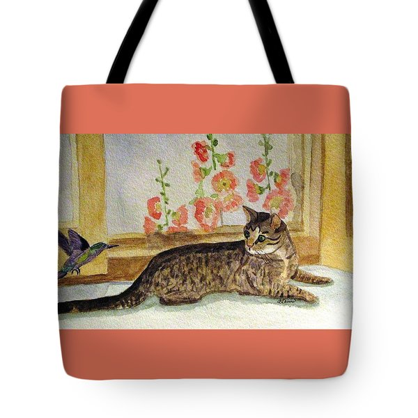 The Visitor Tote Bag by Angela Davies