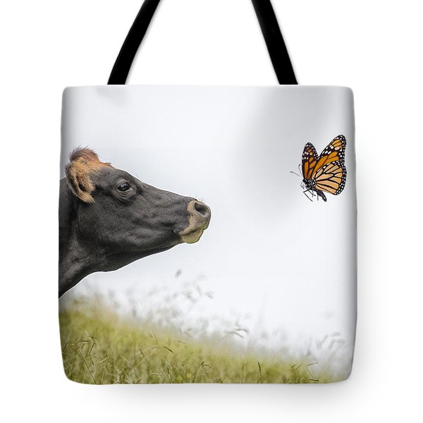 The Visitor  Tote Bag by Sheila Smart Fine Art Photography