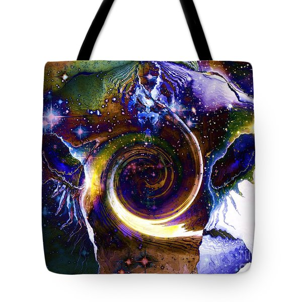 The Visitor Vanishes Tote Bag