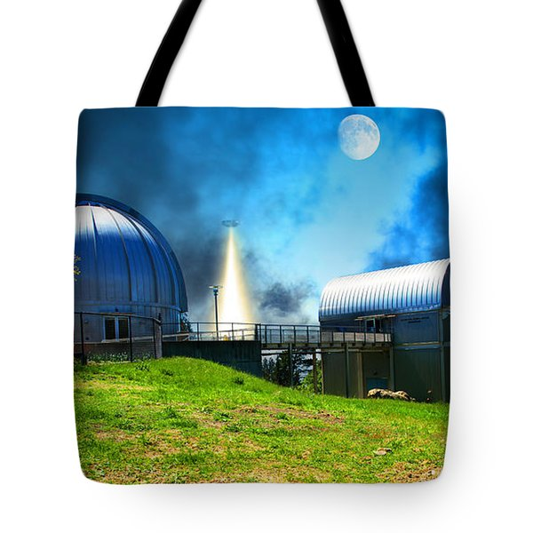 The Visitors At The Chabot Space And Science Center In The Hills Of Oakland California Dsc912 V1 Tote Bag