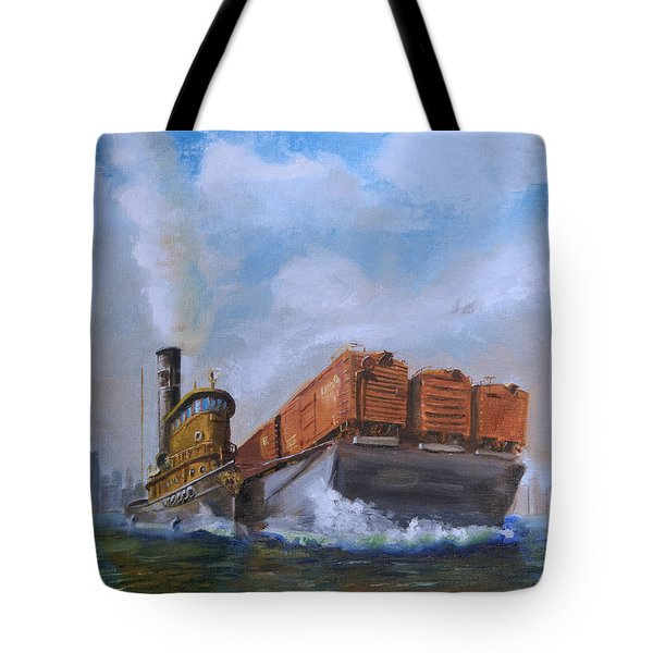 The Vital Link Tote Bag by Christopher Jenkins