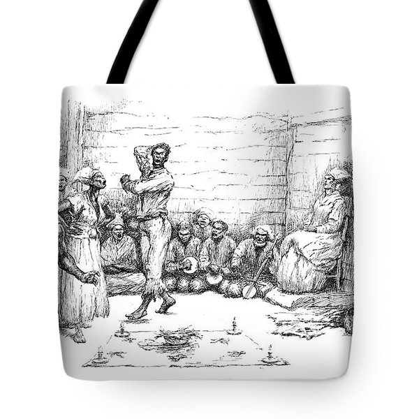 The Voodoo Dance Tote Bag