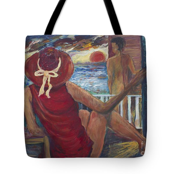 The Voyeurs Tote Bag by Avonelle Kelsey