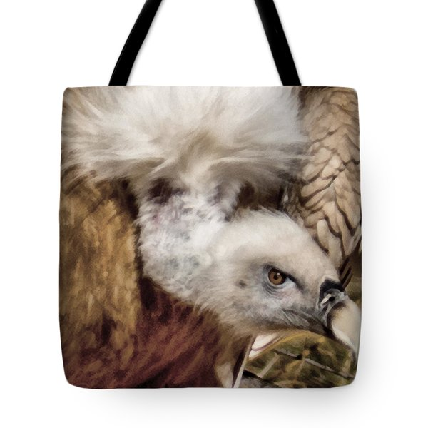The Vulture Tote Bag by Ernie Echols