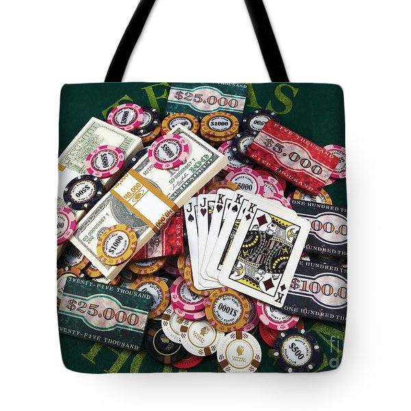 The Wager Tote Bag
