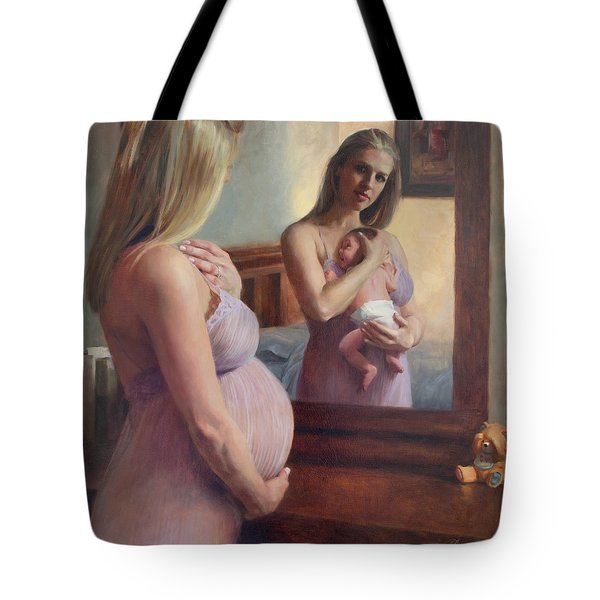 The Wait And The Reward Tote Bag