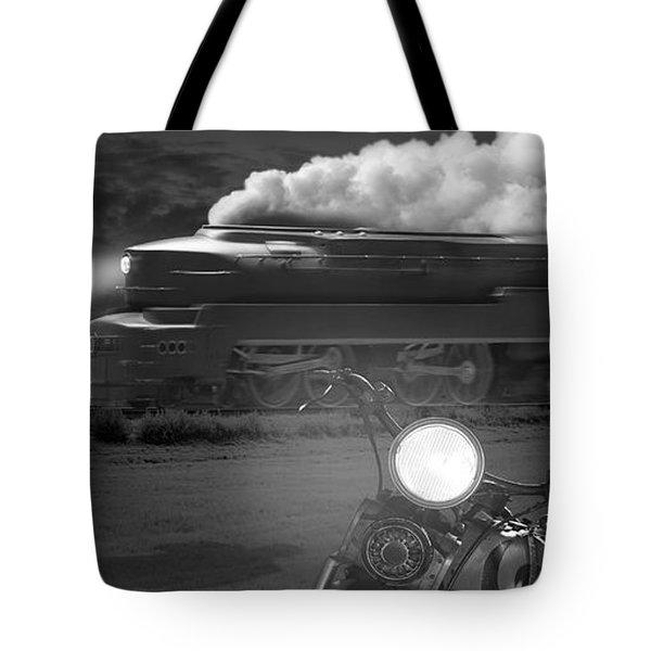 The Wait - Panoramic Tote Bag