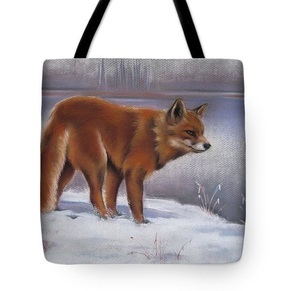 Tote Bag featuring the drawing The Waiting Game by Cynthia House
