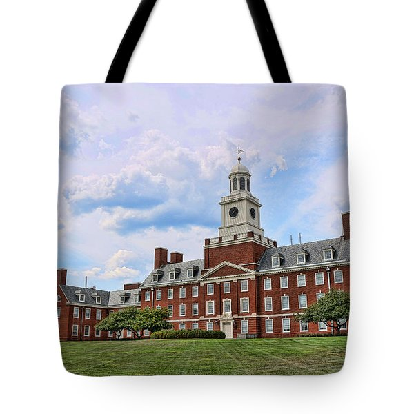 The Waksman Institute Of Microbiology Tote Bag by Allen Beatty