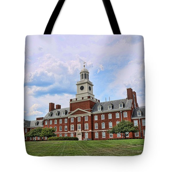 The Waksman Institute Of Microbiology Tote Bag