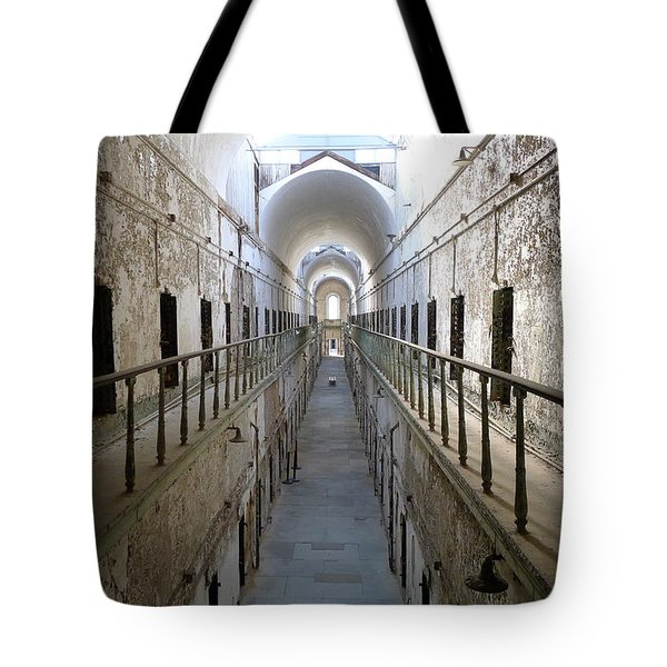 The Walk II Tote Bag by Richard Reeve