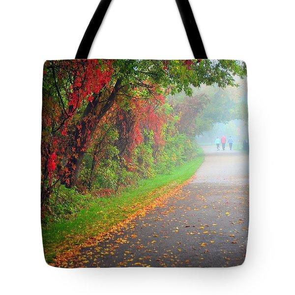 The Walk Tote Bag by Terri Gostola