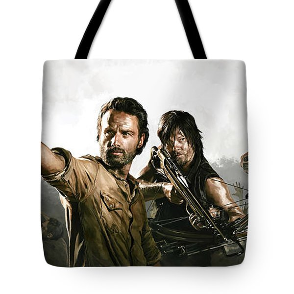 The Walking Dead Artwork 1 Tote Bag