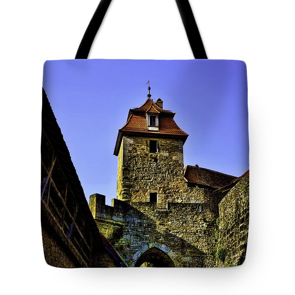The Wall  Tote Bag by Joanna Madloch