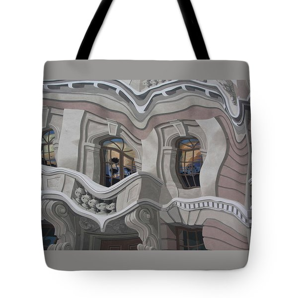 Tote Bag featuring the photograph The Walls Are Coming Down by Natalie Ortiz