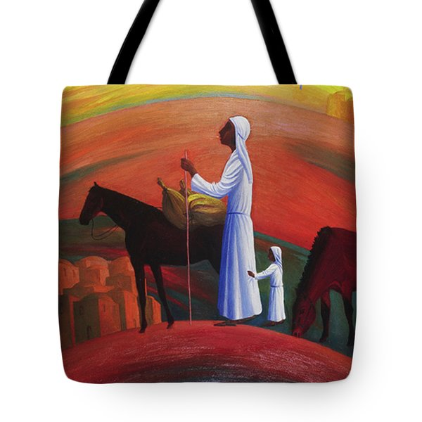 The Wandering Mary Magdalene Tote Bag