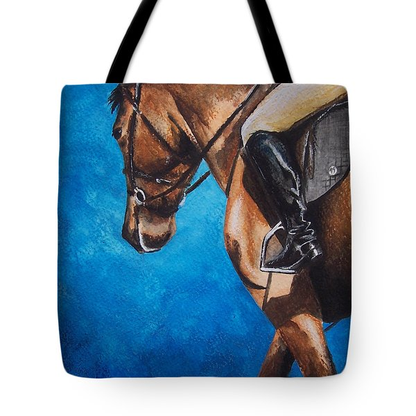 The Warm Up Tote Bag