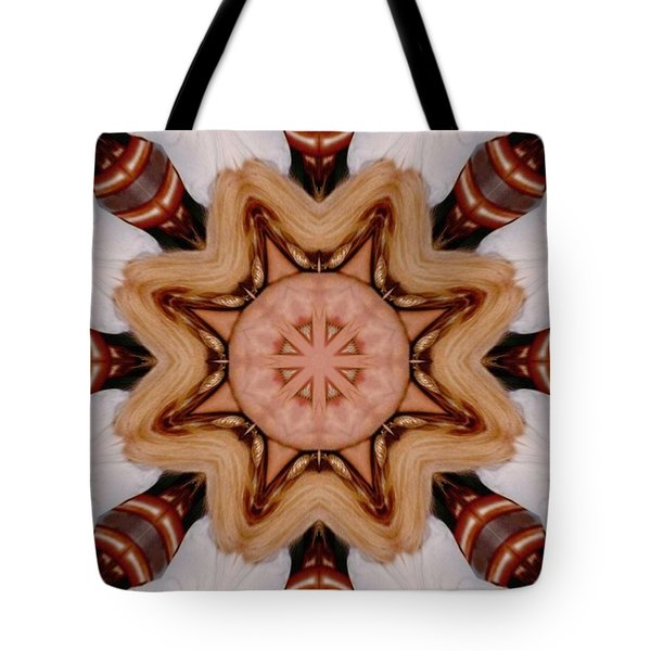 The Warrior Tote Bag by Faye Symons