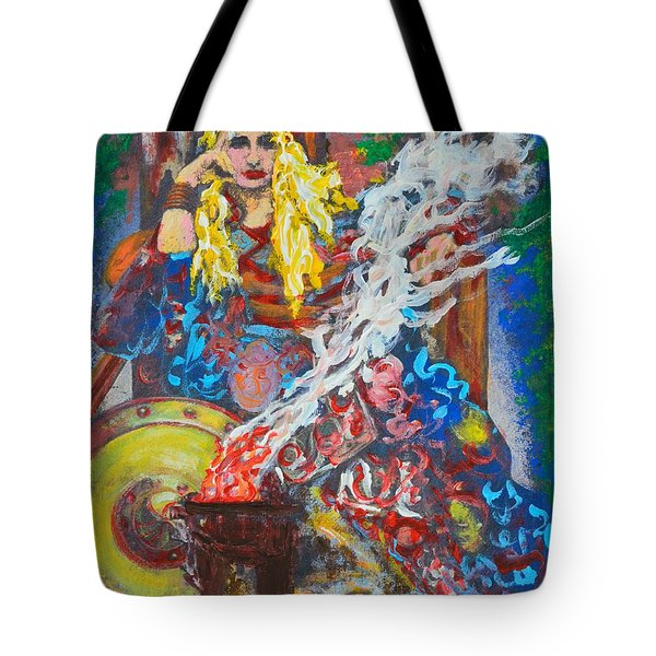 The Warrior Queen Tote Bag