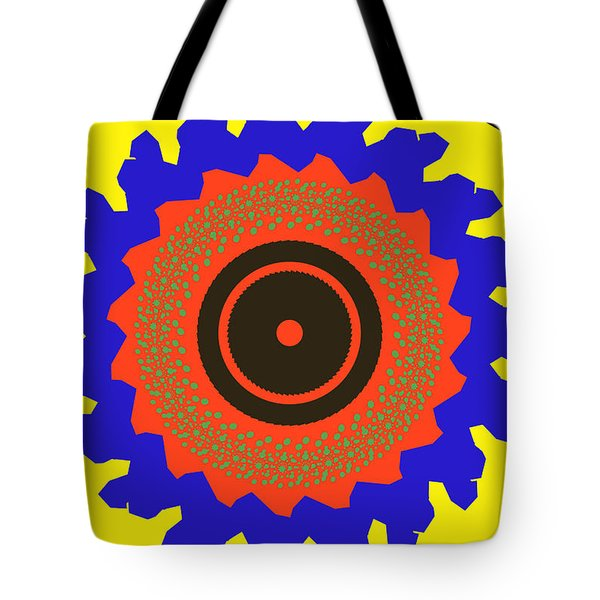 The Watcher Tote Bag by Claudia Ellis