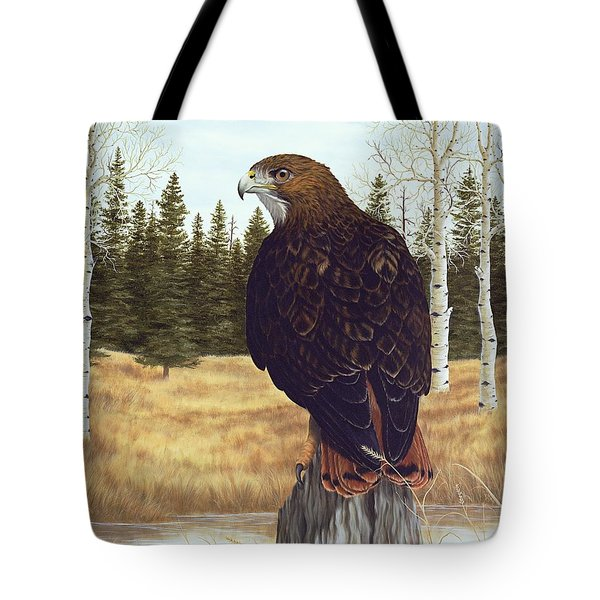 The Watchful Eye Tote Bag by Rick Bainbridge