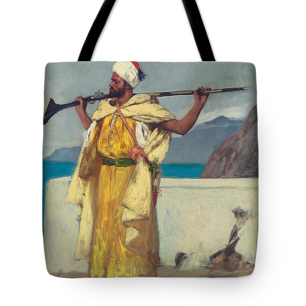 The Watchful Guard Tote Bag