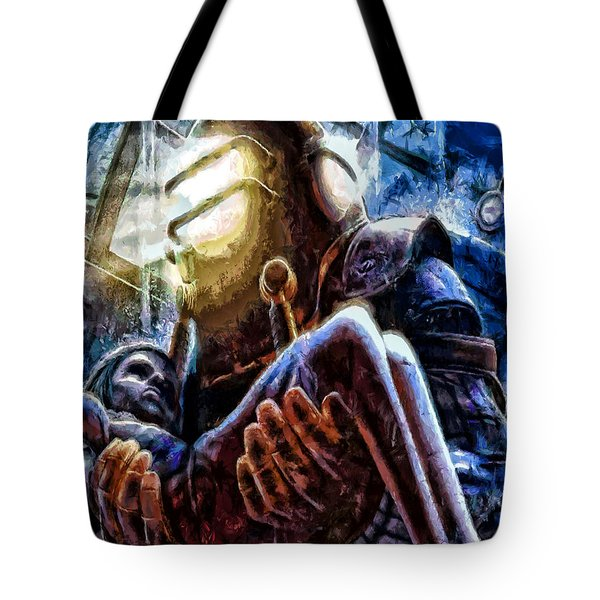 The Watchful Protector Tote Bag